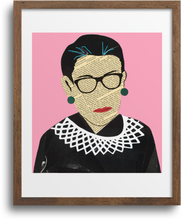 Load image into Gallery viewer, Ruth Bader Ginsburg (RGB) - Pink