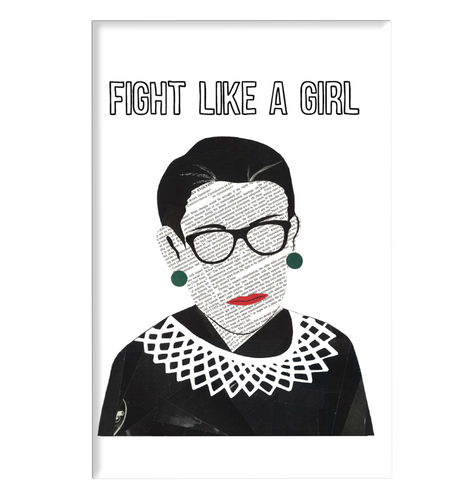 RBG - Fight Like A Girl Magnet