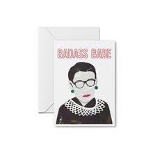 Load image into Gallery viewer, RBG Ruth Bader Ginsburg Badass Babe