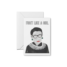 Load image into Gallery viewer, RBG Fight Like a Girl - Ruth Bader Ginsburg