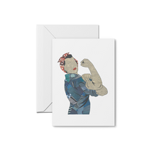 Load image into Gallery viewer, Rosie the Riveter Prints & Notecards
