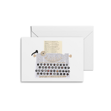 Load image into Gallery viewer, Typewriter Print & Notecards