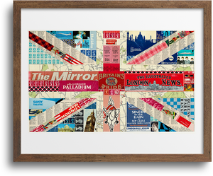 Union Jack Flag Prints & Notecards
