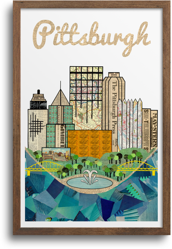 Pittsburgh Skyline Print & Notecards