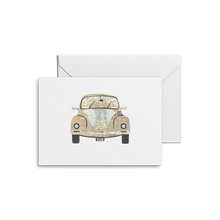 Load image into Gallery viewer, Volkswagon Beetle Print | Notecards