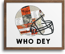 Load image into Gallery viewer, Cincinnati Bengals - Who Dey Print