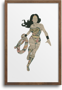 Wonder Woman Prints & Notecards