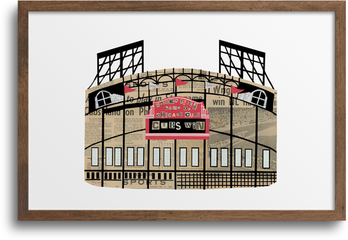 Wrigley Field prints & Notecards