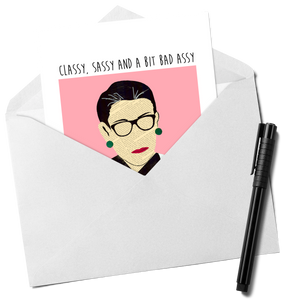 RBG - Happy Mothers Day Greeting Card