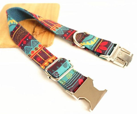 creative design engraved collar dog