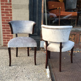 Upholstered Maple Chairs