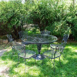 Outdoor Patio Dining Set By Russell Woodard