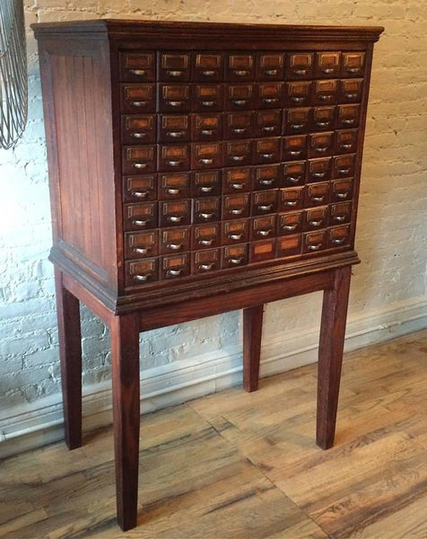 Antique Oak Apothecary Cabinet – cityFoundry