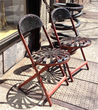 Francois Carre Folding Chairs