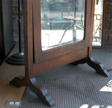 Antique Cheval Mirror