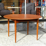 Round Danish Dining Table