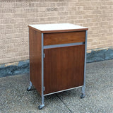 George Nelson Rolling Cabinet