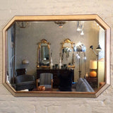 Leather Shagreen Mirror
