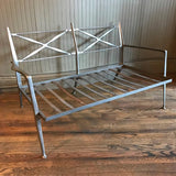 Molded Steel Loveseat