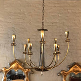 Paavo Tynell Flush Mount Chandelier