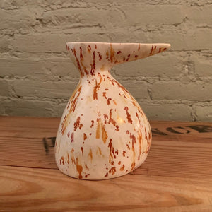 Mid-Century Modern Art Pottery Decanter Vase