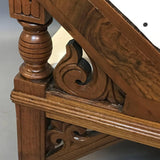 Carved Mahogany Chaise Longue