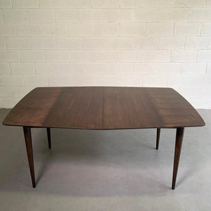 Mid Century Modern Mahogany Extension Dining Table By John Stuart