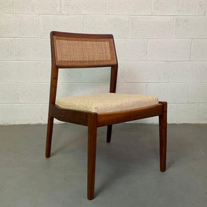 "Jens Risom Cane Back ""Playboy"" Side Desk Chair"