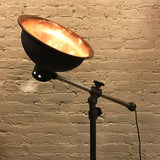 Copper Industrial Floor Lamp