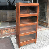 Wood Barrister Book Case