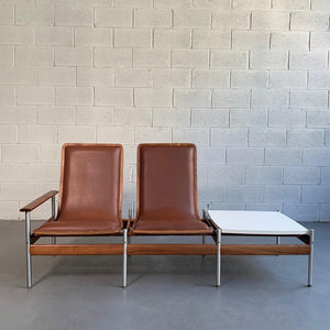 Scandinavian Modern Seating Table Ensemble By Sven Ivar Dysthe
