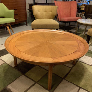 Round Midcentury Coffee Table by Sophisticate by Tomlinson