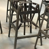 Industrial Spring Stools By Charles E. Miller for American Cabinet Co.