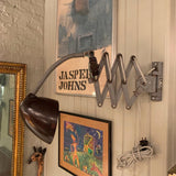Industrial Scissor Task Lamp Wall Sconce
