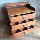 Oak Document Chest