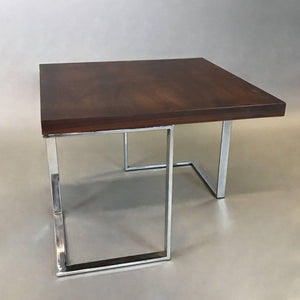 Modernist Rosewood Side Table