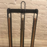 Brass Plated Fireplace Tools