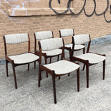 Erik Buch Rosewood Dining Chairs