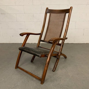 Late 19th Century Folding Deck Chair