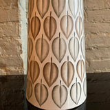 Mid-Century Modern Hand Painted Art Pottery Table Lamp