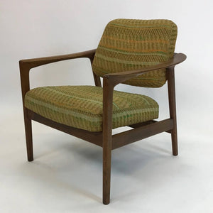 DUX Walnut Lounge Chair