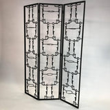 Brutalist Room Divider Screen