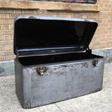 Brushed Steel Automobile Trunk