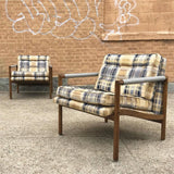 Harvey Probber Style Lounge Chairs