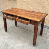 Oak Library Desk