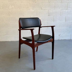 Danish Modern Rosewood Armchair By Erik Buch for O.D. Mobler