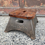 Industrial Pullman Train Conductor Step Stool