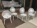 Francois Carré Sunburst Patio Chairs