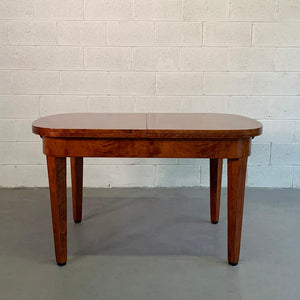Biedermeier Satinwood Expanding Dining Table by Ruscheweyh Tisch