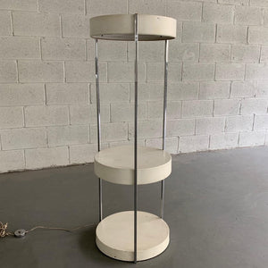 George Kovacs Tiered Floor Lamp Shelf Unit Etagere